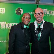 NLD/Scheveningen/20111106 - Premiere musical Wicked, Maik de Boer en ……….