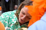Her Majesty the queen and members of the royal family celebrate Saturday 29 April 2006 Queensday in the province flevoland in the cities  Zeewolde and almere.<br /> <br /> Hare Majesteit de Koningin en leden van de Koninklijke Familie vieren zaterdag 29 april 2006 Koninginnedag mee in de provincie Flevoland en wel in Zeewolde en Almere.<br /> <br /> On the Photo / Op dce foto:<br /> <br /> Princess Annette