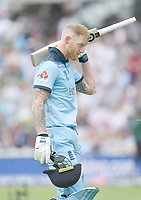 Cricket - 2019 ICC Cricket World Cup - Group Stage: England vs. South Africa<br /> <br /> England's Ben Stokes dismissed for 89, at The Kia Oval.<br /> <br /> COLORSPORT/ASHLEY WESTERN