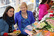 Aoife Welby and Anne Dunne enjoying the Street Feast at the opening of the Galway Bike Festival on Saturday. Photo:-XPOURE.IE / NO FEE
