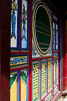 Front hall of Quan Cong temple in Hoi An.