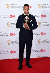 Cuba Gooding Jr in the press room at the Virgin TV British Academy Television Awards 2017 held at Festival Hall at Southbank Centre, London.