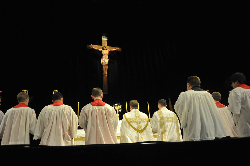 Events included a Eucharistic procession.