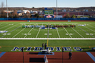 Lansing plays Kashequa in a New York State Public High School Athletic Association Class  C boys' soccer semifinal game at Faller Field on Nov.16, 2019.