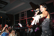 """Kat De Luna performs at """" The Ultimate Prom"""" presented by Universal Motown and Mypromstyle.com held at Pier 60 at Chelsea Piers in New York City."""
