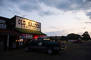 Old Saloon at Emigrant, near Livingstone, Montana. Established in 1902 The Old Saloon has old west atmosphere with the original interior of the saloon. Emigrant is located in the middle of Paradise Valley