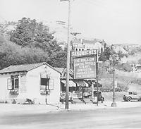 1930 The Bungalow Restaurant on Sunset Blvd.
