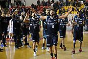 DESCRIZIONE : Roma LNP A2 2015-16 Acea Virtus Roma Benacquista Assicurazioni Latina<br /> GIOCATORE : Benacquista Assicurazioni Latina<br /> CATEGORIA : post game esultanza<br /> SQUADRA : Acea Virtus Roma<br /> EVENTO : Campionato LNP A2 2015-2016<br /> GARA : Acea Virtus Roma Benacquista Assicurazioni Latina<br /> DATA : 20/12/2015<br /> SPORT : Pallacanestro <br /> AUTORE : Agenzia Ciamillo-Castoria/G.Masi<br /> Galleria : LNP A2 2015-2016<br /> Fotonotizia : Roma LNP A2 2015-16 Acea Virtus Roma Benacquista Assicurazioni Latina