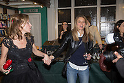 ALLIE ESIRI; CHARLOTTE SPENCER Allie Esiri's The Love Book launch party , Daunt Books <br /> 83 Marylebone High Street, London. 5 February 2014