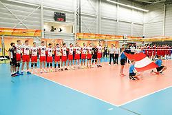 20170525 NED: 2018 FIVB Volleyball World Championship qualification, Koog aan de Zaan<br />Team Austria<br />©2017-FotoHoogendoorn.nl / Pim Waslander