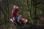 Glen Coldenhoff was the only rider to really stay with Herlings last the weekend.  He qualified 4th, but went 2-2 in MX1.