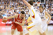 DESCRIZIONE : Berlino Berlin Eurobasket 2015 Group B Germany Turkey <br /> GIOCATORE :  Melih Mahmutoglu<br /> CATEGORIA : Palleggio Penetrazione<br /> SQUADRA : Turkey<br /> EVENTO : Eurobasket 2015 Group B <br /> GARA : Germany Turkey <br /> DATA : 08/09/2015 <br /> SPORT : Pallacanestro <br /> AUTORE : Agenzia Ciamillo-Castoria/I.Mancini <br /> Galleria : Eurobasket 2015 <br /> Fotonotizia : Berlino Berlin Eurobasket 2015 Group B Germany Turkey