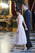 101018 Spanish Royals Attend a Reception for The National Day