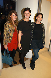 Left to right, GRACE DAVIS, MIRANDA DAVIS and SADIE FROST at a party to celebrate the launch of the Crine Gilson store at 12 Lowndes Street, London SW1 on 10th October 2006.<br /><br />NON EXCLUSIVE - WORLD RIGHTS