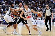 DESCRIZIONE : Bologna Serie B Playoff Girone B Finale Gara 1 2014-15 Eternedile Bologna Contadi Castaldi Montichiari<br /> GIOCATORE : Matteo Montano<br /> CATEGORIA : palleggio penetrazione blocco<br /> SQUADRA : Eternedile Bologna<br /> EVENTO : Campionato Serie B 2014-15<br /> GARA : Eternedile Bologna Contadi Castaldi Montichiari<br /> DATA : 28/05/2015<br /> SPORT : Pallacanestro <br /> AUTORE : Agenzia Ciamillo-Castoria/M.Marchi<br /> Galleria : Serie B 2014-2015 <br /> Fotonotizia : Bologna Serie B Playoff Girone B Finale Gara 1 2014-15 Eternedile Bologna Contadi Castaldi Montichiari