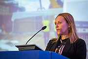 NO FEE PICTURES                                                                                                                                              10/10/19 Bronagh D'Arcy, Deputy CEO and Director of New Business and Development at Tuath Housing at the Irish Council for Social Housing (ICSH) Biennial Finance and Development Conference 2019 at the Clayton Whites Hotel, Wexford 10-11 October. The two-day conference brings together 300 delegates including active housing associations, currently facing the challenge of growing their housing stock and making it more environmentally sustainable. At the event, stakeholders from the public, not-for-profit and private sectors will discuss how collaboration and innovation can develop the sector's capacity to build more sustainable and climate resilient communities.Picture: Arthur Carron