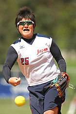 2012 Australia v Japan Softball