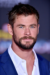 Chris Hemsworth attends the premiere of Disney and Marvel's 'Thor: Ragnarok' at El Capitan Theatre on October 10, 2017 in Los Angeles, California. Photo by Lionel Hahn/AbacaPress.com