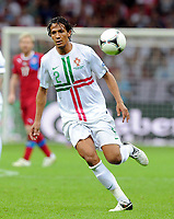 Fotball<br /> 21.06.2012<br /> Kvartfinale EM <br /> Tsjekkia v Portugal<br /> Foto: Witters/Digitalsport<br /> NORWAY ONLY<br /> <br /> Bruno Alves (Portugal)<br /> Fussball EURO 2012, Viertelfinale, Tschechien - Portugal 0:1
