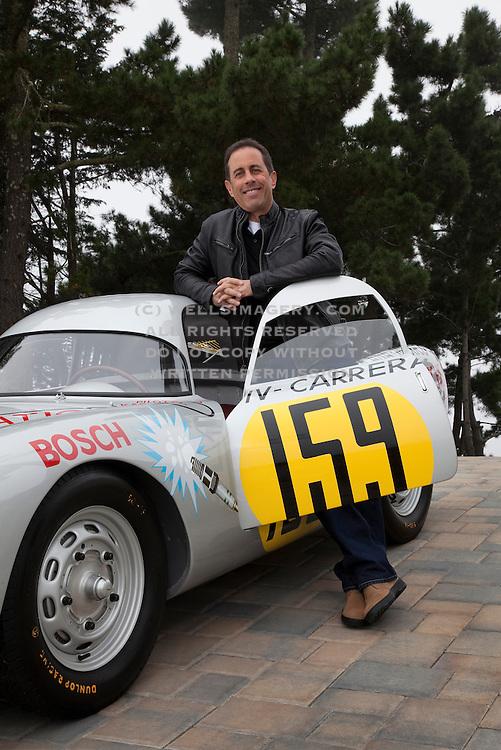 Jerry Seinfeld and Porsche 550-003, California, America west coast by Randy Wells