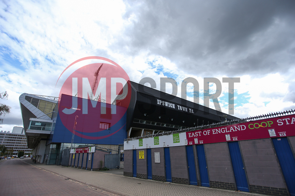 A general view of the stadium - Mandatory by-line: Arron Gent/JMP - 05/09/2020 - FOOTBALL - Portman Road - Ipswich, England - Ipswich Town v Bristol Rovers - Carabao Cup