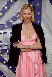 April 12, 2018 - New York, NY, USA - April 12, 2018  New York City..Karlie Kloss attending Swarovski Times Square store party celebration at Hudson Mercantileon April 12, 2018 in New York City. (Credit Image: © Kristin Callahan/Ace Pictures via ZUMA Press)
