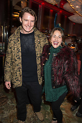 JAMES SUCKLING and JAIME WINSTONE at the launch of the new Matchless Star Wars collection at Sexy Fish, Berkeley Square, London on 4th November 2015.