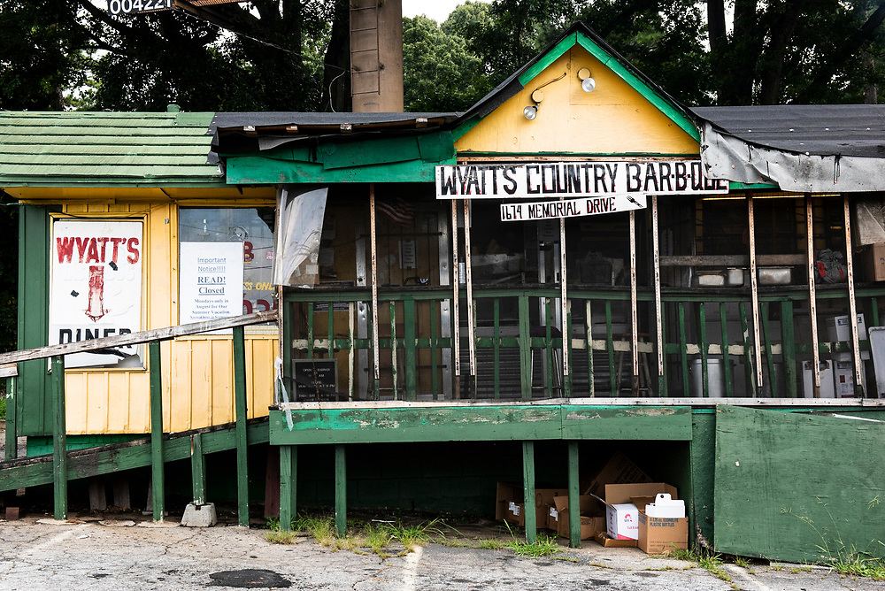Atlanta's legendary bbq spot, Wyatt's Country Bar-B-Que, has been smoking some of the cities greatest pork, chicken, and beef for 30 plus years.