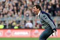 Fotball<br /> Tyskland<br /> Foto: Witters/Digitalsport<br /> NORWAY ONLY<br /> <br /> 25.10.2009<br /> <br /> Trainer Claus Dieter Wollitz Cottbus<br /> 2. Bundesliga FC St. Pauli - Energie Cottbus