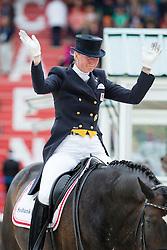 Nathalie Zu Sayn Wittgenstein, (DEN), Digby - Grand Prix Special Dressage - Alltech FEI World Equestrian Games™ 2014 - Normandy, France.<br /> © Hippo Foto Team - Leanjo de Koster<br /> 25/06/14