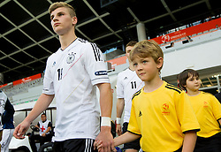 Timo Werner of Germany during the UEFA European Under-17 Championship Group A match between Germany and France on May 10, 2012 in SRC Stozice, Ljubljana, Slovenia. (Photo by Vid Ponikvar / Sportida.com)