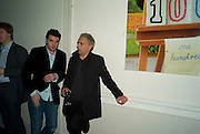 EDWARD DOCX AND HANIF KUREISHI, party to celebrate the 100th issue of Granta magazine ( guest edited by William Boyd.) hosted by Sigrid Rausing and Eric Abraham. Twentieth Century Theatre. Westbourne Gro. London.W11  15 January 2008. -DO NOT ARCHIVE-© Copyright Photograph by Dafydd Jones. 248 Clapham Rd. London SW9 0PZ. Tel 0207 820 0771. www.dafjones.com.