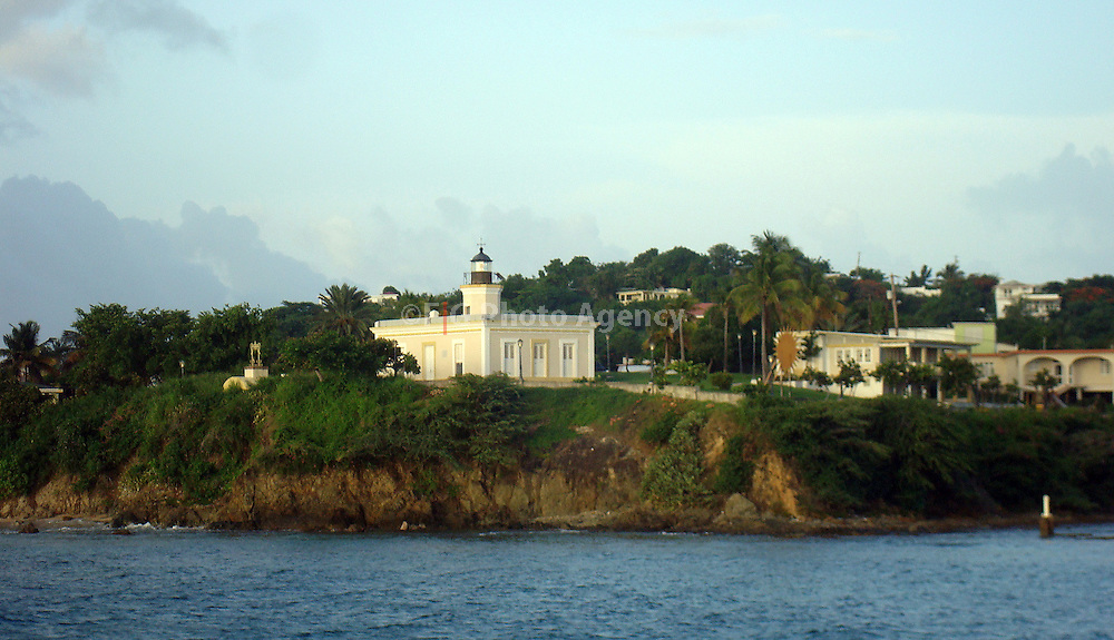 Isabel II in the north side of Vieques Island, Puerto Rico.