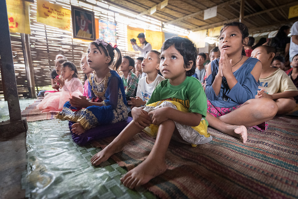 14 September 2018, Damak, Nepal: Children in the Beldangi refugee camp in the Jhapa district of Nepal, which hosts more than 5,000 Bhutanese refugees.