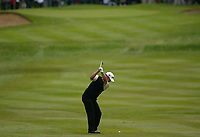 Photograph: Scott Heavey<br />Volvo PGA Championship At Wentworth Club. 25/05/2003.<br />Paul Casey tries to find the 4th green.
