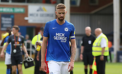 Mark Beevers of Peterborough United leaves the pitch dejected at full-time - Mandatory by-line: Joe Dent/JMP - 03/08/2019 - FOOTBALL - Weston Homes Stadium - Peterborough, England - Peterborough United v Fleetwood Town - Sky Bet League One
