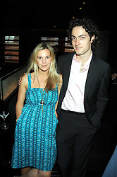 CLEMENTINE BROWN and ED CHURCHWARD at the Beat Summer party hosted by Luca del Bono at L'Atelier De Joel Robuchon, 13-15 West Street, Covent Garden, London on 1st July 2008.<br /><br />NON EXCLUSIVE - WORLD RIGHTS
