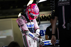 April 28, 2018 - Baku, Azerbaijan - OCON Esteban (fra), Force India F1 VJM11, portrait during the 2018 Formula One World Championship, Grand Prix of Europe in Azerbaijan from April 26 to 29 in Baku  (Credit Image: © Hoch Zwei via ZUMA Wire)