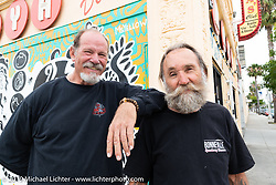 Keith Ball and Micah McCloskey in Wilmington, CA, USA. Monday, June 24, 2019. Photography ©2019 Michael Lichter.