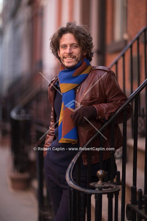 Daan Bauwens photographed in New York City. <br /> <br /> Photo © Robert Caplin