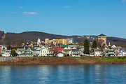 March 21, 2020 -- Danville, Pennsylvania as seen from the opposite side of the Susquehanna River.