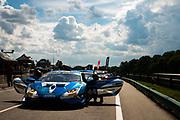 June 6, 2021. Lamborghini Super Trofeo, VIR: 44 Sergio Jimenez, Ansa Motorsports, Lamborghini Broward