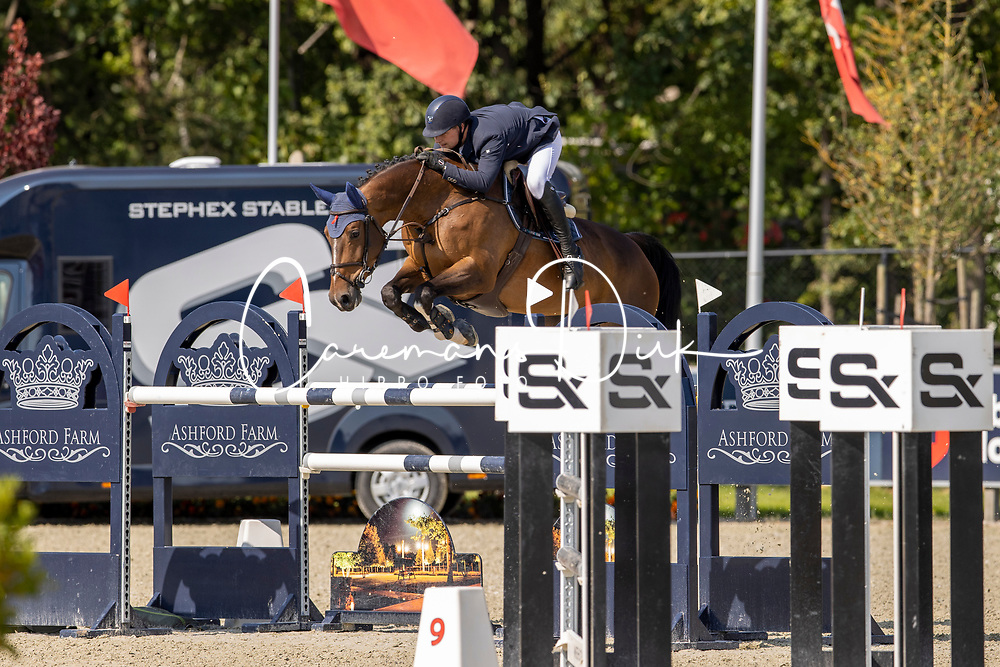 Verheyen Christoph, BEL, Indiana-K van't Kattenheye<br /> Belgian Championship 7 years old horses<br /> SenTower Park - Opglabbeek 2020<br /> © Hippo Foto - Dirk Caremans<br />  13/09/2020