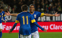 Malmö  2012-10-11  Fotboll  Landskamp  Brazil    - Iraq   :  Brazil 11 Neymar Brazil 11 Neymar.(Foto: Christer Thorell, Pic-Agency.com) Nyckelord : .