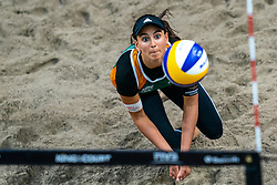 Marta Menegatti ITA in action during the first day of the beach volleyball event King of the Court at Jaarbeursplein on September 9, 2020 in Utrecht.