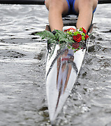 Brest, Belarus.   Silver  Medalist, Peter CHAMERBS moves away from the award dock with his presentation flower stowed in the boat. 2010. FISA U23 Championships. Sunday,  25/07/2010.  [Mandatory Credit Peter Spurrier/ Intersport Images]