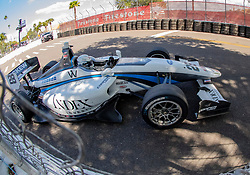 March 9, 2019 - St. Petersburg, FL, U.S. - ST. PETERSBURG, FL - MARCH 09:  driver Oliver Askew (28) during the Indy Lights Race of St. Petersburg on March 9 in St. Petersburg, FL. (Photo by Andrew Bershaw/Icon Sportswire) (Credit Image: © Andrew Bershaw/Icon SMI via ZUMA Press)