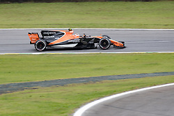 November 11, 2017 - Sao Paulo, Sao Paulo, Brazil - 2 STOFFEL VANDOORNE, of McLaren Honda F1 team, drives during the free training for the Formula One Grand Prix of Brazil at Interlagos circuit, in Sao Paulo, Brazil. The grand prix will be celebrated next Sunday, November 12. (Credit Image: © Paulo Lopes via ZUMA Wire)