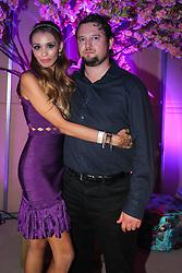 Fernanda e Rodolfo Salvi na Festa de inauguração do Viva Open Mall. FOTO: Dani Barcellos/ Agência Preview