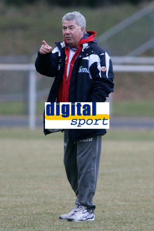 Fotball<br /> 25.03.2009<br /> Norge på treningsleir i Tyskland før kampen mot Sør-Afrika<br /> Frankfurt<br /> Foto: Alfred Harder/Digitalsport<br /> NORWAY ONLY<br /> <br /> Egil Olsen